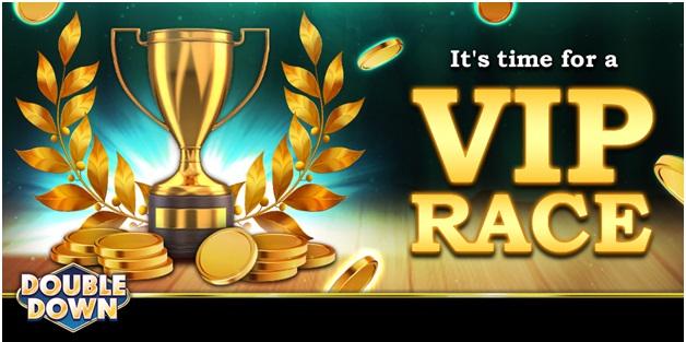 VIP-races bij High Limit Room Double Down Casino