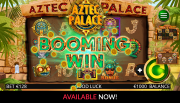 Booming Games Aztec palace