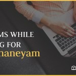 Problems while Applying for Manidhaneyam