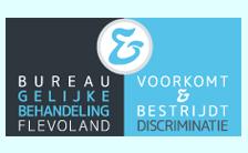 logo bureau gelijke behandeling flevoland