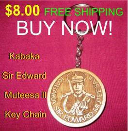 Sir Edward Muteesa Key Chain
