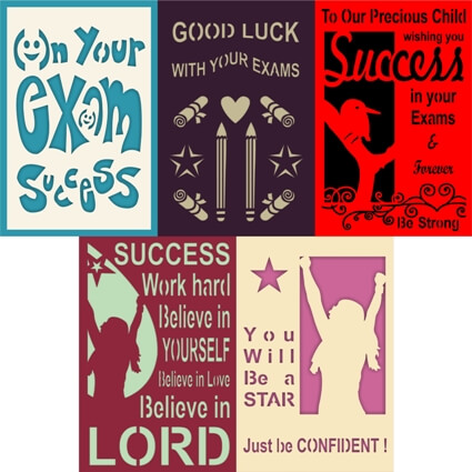 Exam Success Cards Discover Best Cards for Good Luck Exam Wishes – Success Cards for Exams