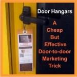 Door-to-door Marketing Tricks