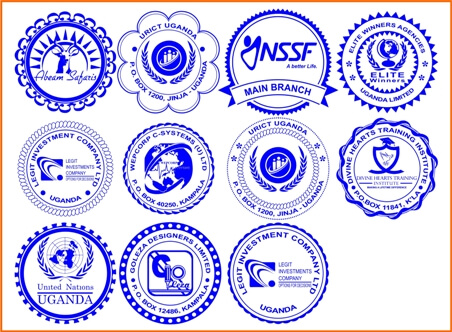 Round Stamp Designs Are Good for Establishing your Business Brand with