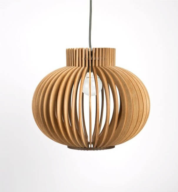 This Elegantly Designed Lampshade Depicts The Image Of A Handmade Clay Pot