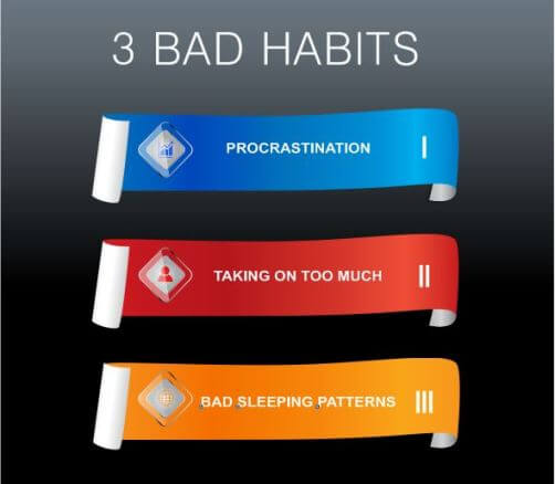 Home Business Bad Habits