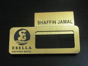 Name Card Insert