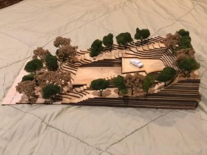 Wooden Architectural Model