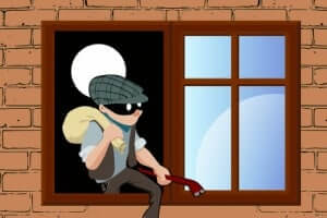 Thief Breaking House