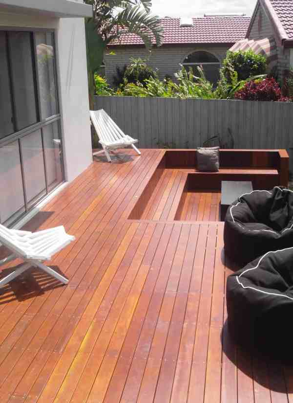 Gold Coast Timber Deck With Outdoor Spa