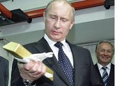 Putin and gold