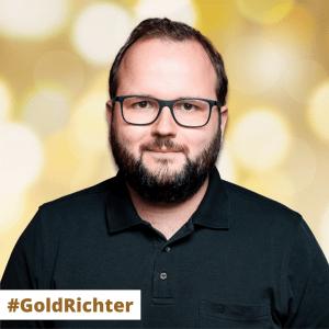 #GoldRichter Stephan Richter