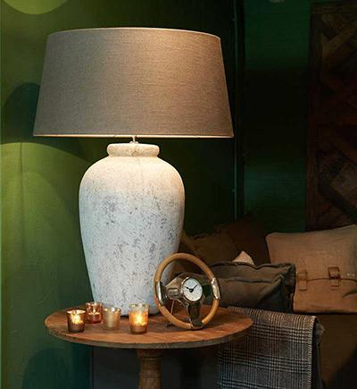 Gold & Grey UK Interior Design - Lighting Design Warm Table Lamp