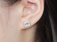 2 carat diamond stud earrings - Beautiful Out-Fit with the ...