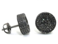 Black Diamond Earrings Male Diamond Earrings Boys Pearl
