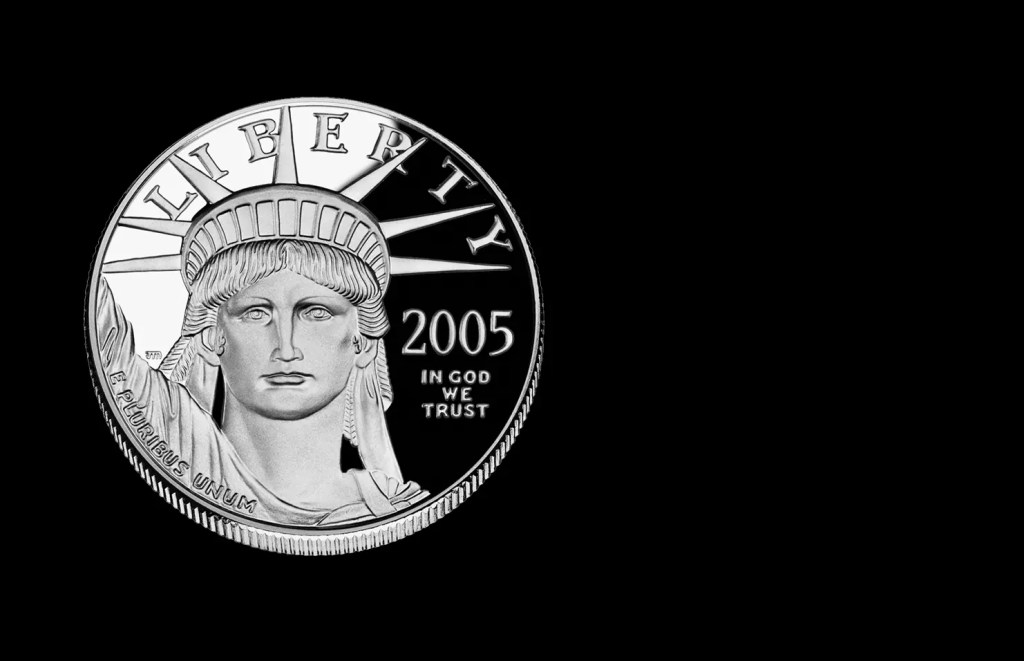platinum coin | wikipedia.org