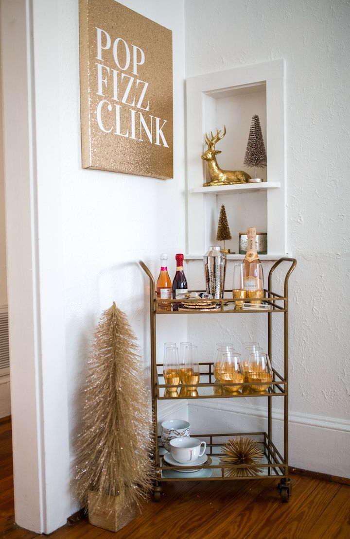 Gold Bar Cart Gallery  Gold Bar Cart