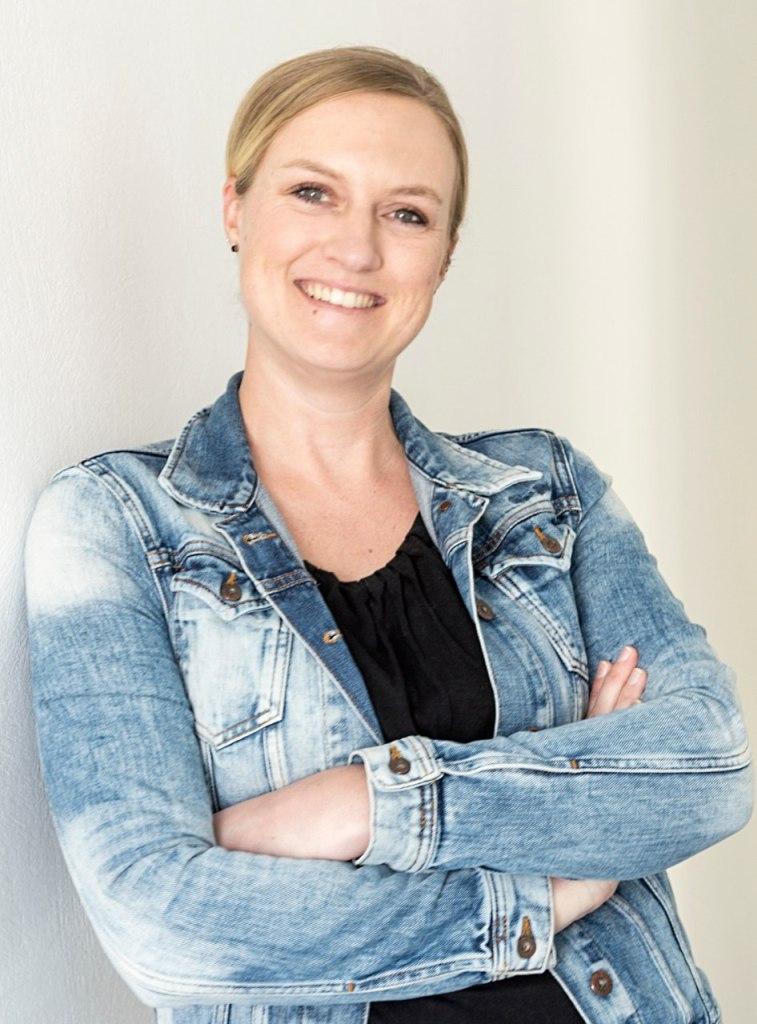 Susanne Schneider, Logodesignerin von Goldberg Fancy Cookies