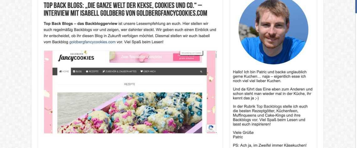Interview mit www.backofenratgeber.de