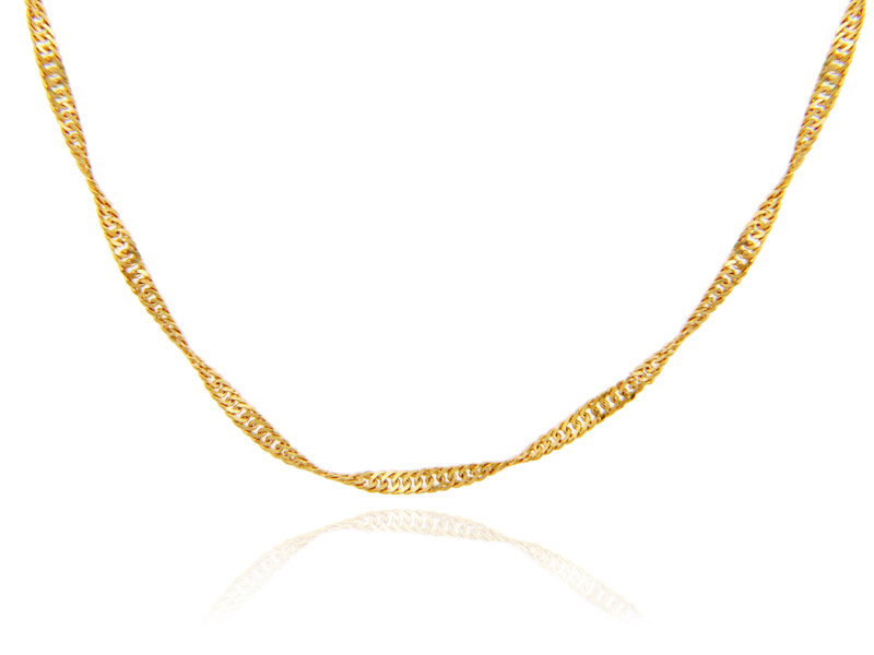 0.2mm Singapore Chain in 9ct Gold