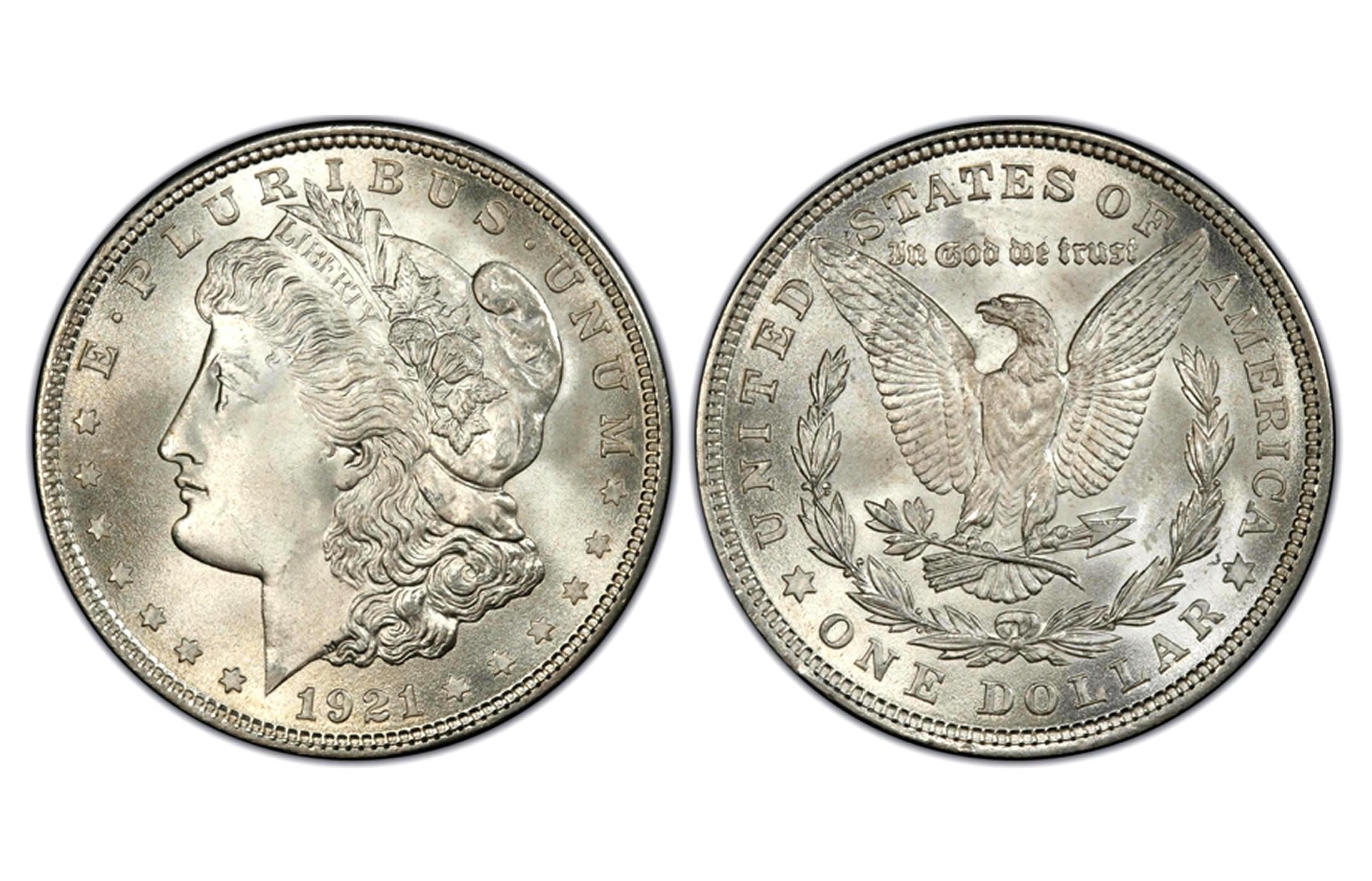 Morgan Silver Dollar Coins  1 oz 1878 1904 1921  1 Face Value  Pre1921 Silver Coins