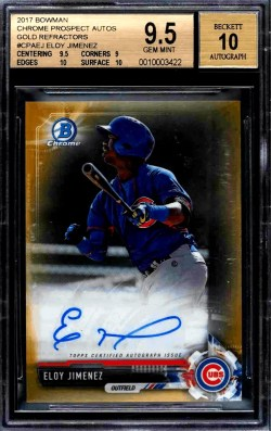 Eloy Jimenez Rookie Card Value