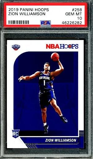 Zion Williamson NBA Hoops rc