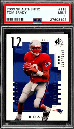 best qb football rookie cards