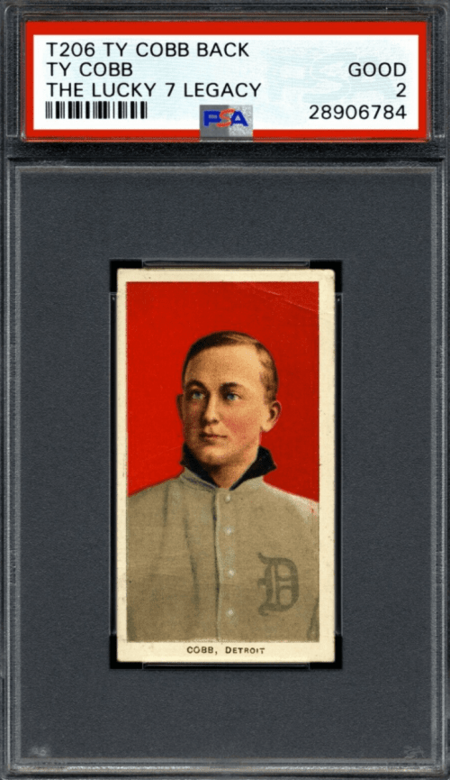 ty cobb lucky 7 find