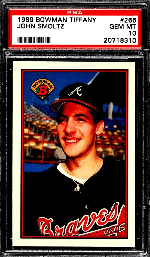 John Smoltz Rookie Card