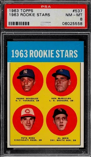Most Valuable Baseball Cards from 60s