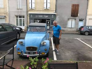 ex Grand Master spending Hash funds on a new car in France