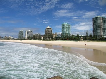 Coolangatta Beach - Gold Coast Australia