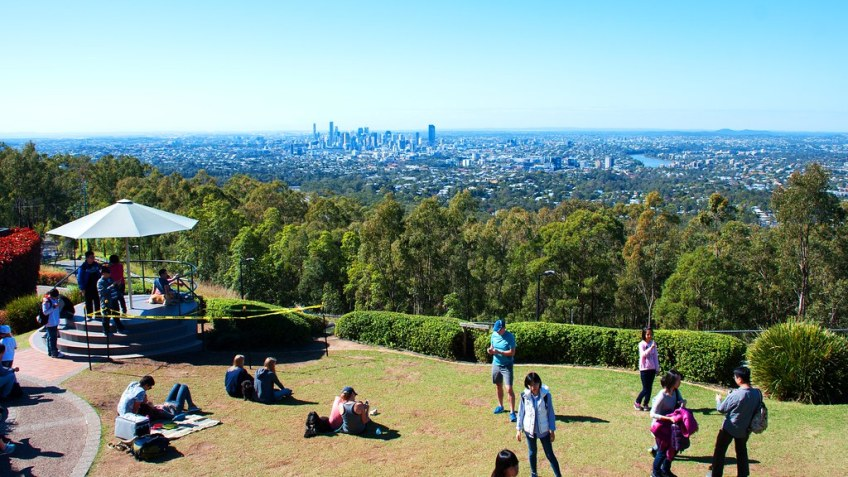 mt cootha photo