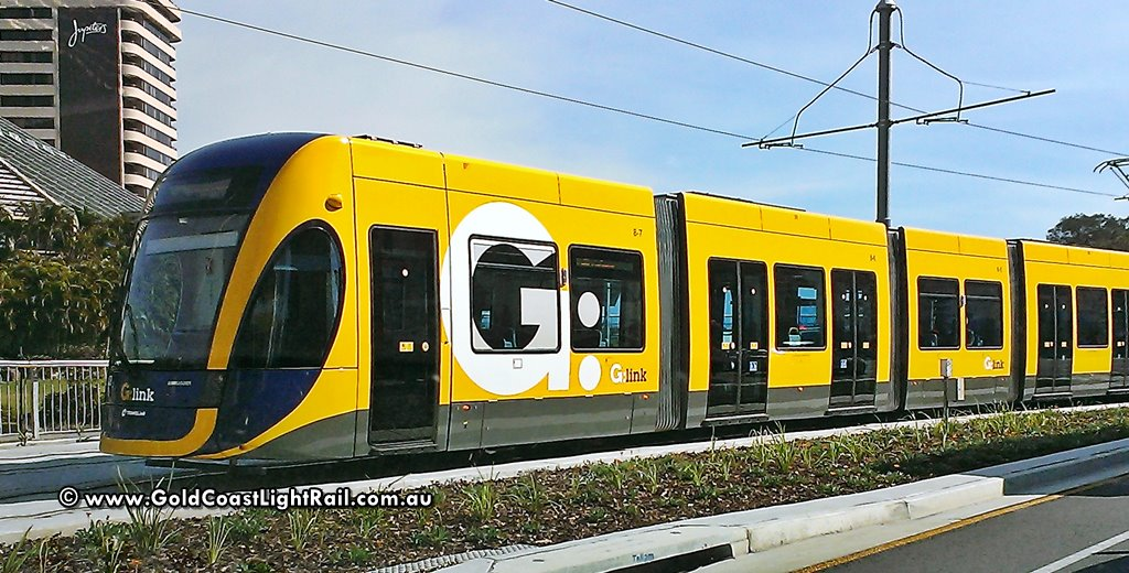 Gold Coast Light Rail - Tram Number 8