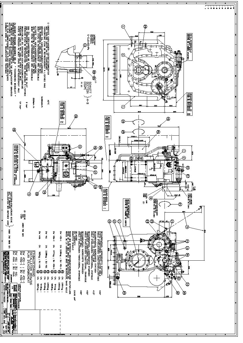 ZF-BW461 Used marine transmissions