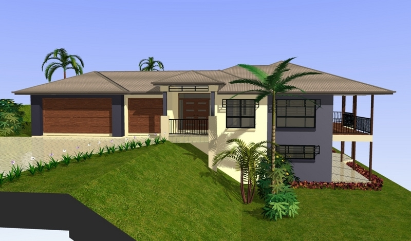 House Plan Design On Sloped Land Plan Home Plans Ideas Picture
