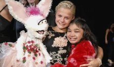 Class act! Eliminated Darci Lynne Farmer congratulates old rival Angelica Hale for advancing to 'AGT: Champions' Finals