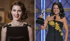 Will Rachel Brosnahan ('Mrs. Maisel') be the 1st and only actress to beat Julia Louis-Dreyfus ('Veep') at the Emmys?