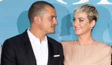 Katy Perry and Orlando Bloom are just like us! They cuddle up, watch 'American Idol' and gobble takeout, too