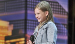 'AGT' nightmare: Watch this sneak peek video of Simon Cowell stopping 12-year-old singer Ansley Burns mid-performance