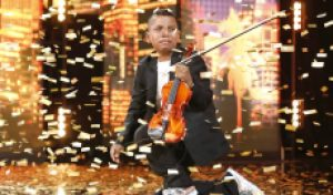 Tyler Butler-Figueroa returns to 'America's Got Talent' with 'inspirational' live cover of 'Don't You Worry Child' [WATCH]