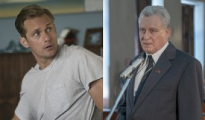 Like son, like father? Stellan Skarsgard can win the same Emmy Award Alexander did