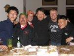 Mr. Lee, Salvador, Matt, Mr. Ha, JW and Mr. Park