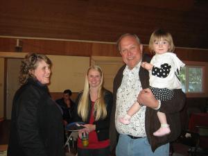 Tricia, Cassie, Bill & Mari