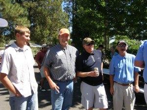 Nathan Rajnus, Cory Thompson, Steve Parkinson and Howie Klassen