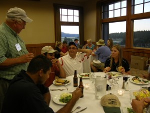 Dinner At The Running Y Lodge