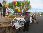 Tricia Hill Presents The 2010 Gold Dust Potatoes Spud Festival Float