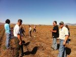 Sage Community School from Chiloquin visited Gold Dust Potatoes