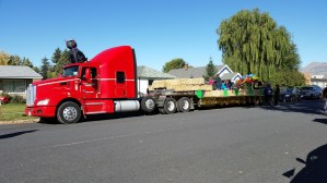 Gold Dust's parade float for the 77th Annual Klamath Basin Potato Festival in Merrill, Oregon.